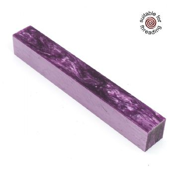 Kirinite Lavender Ice pen blank